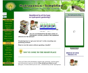Hydroponic System Plans