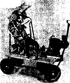 Allan Machine Threshing Machine