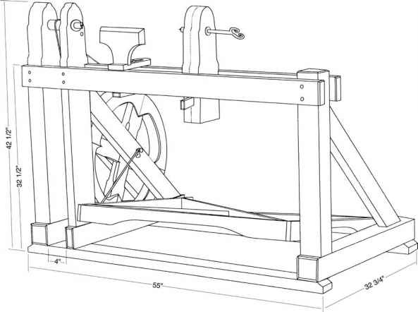 Treadle Lathe Plans
