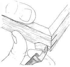 Splined Miter Wood Joint